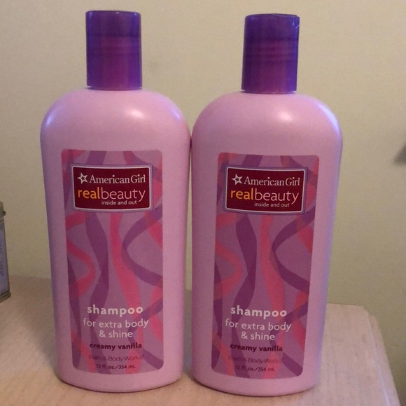 2 American Girl Real Beauty Shampoo NWT